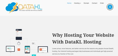 DataKL web hosting packages