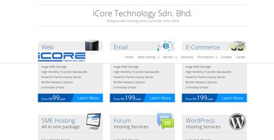 iCore hosting services
