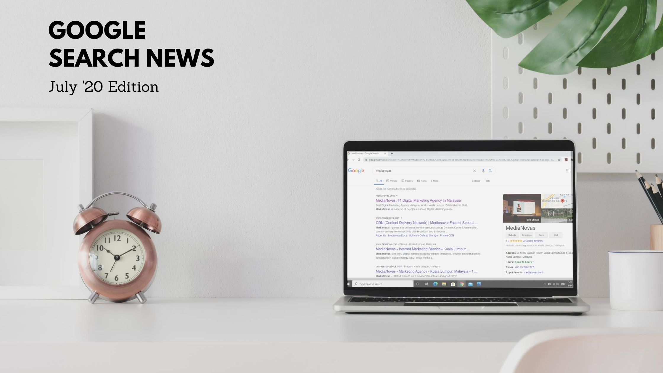 Google Search News – July 2020