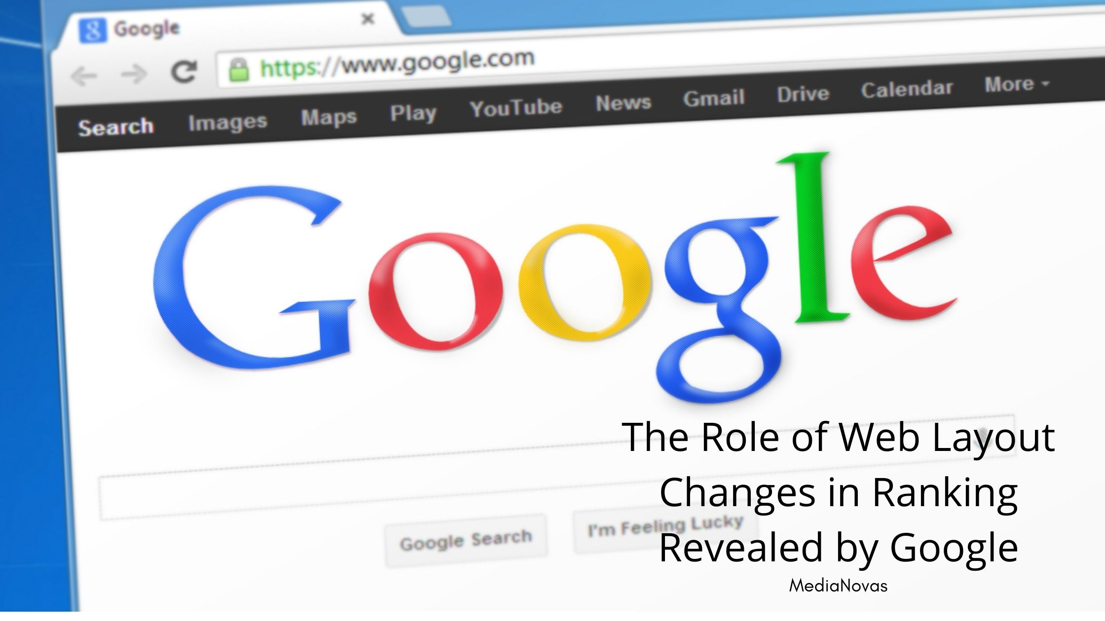 The Role of Web Layout Changes in Ranking Revealed by Google